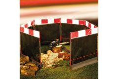 Barrières de protection pour rogneuses de souches (x3)