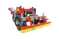 Verti-Groom  version courte - pour Carrier Redexim