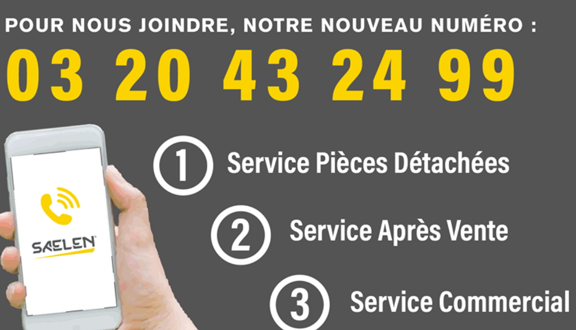 Annonce service client visual