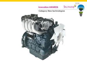 Une excellente combinaison qui a remporté le prix 'Nouvelles Technologies' sur SalonVert 2016