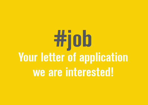 Your spontaneous application interests us!